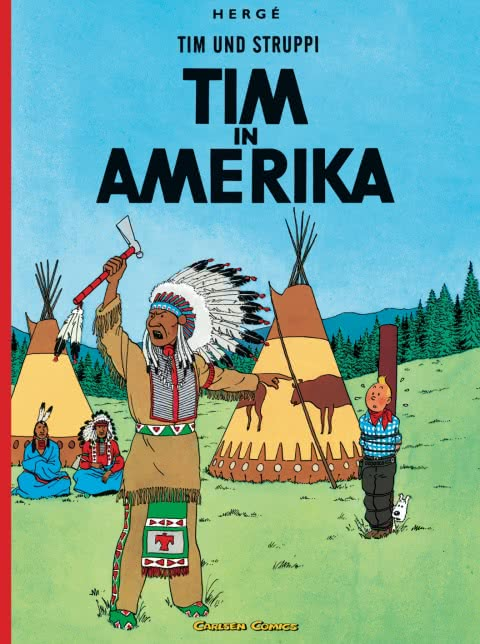 Tim und Struppi 02: Tim in Amerika (Softcover)