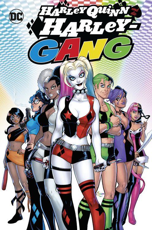Harley Quinn und die Harley-Gang Variant - Comic Festival München
