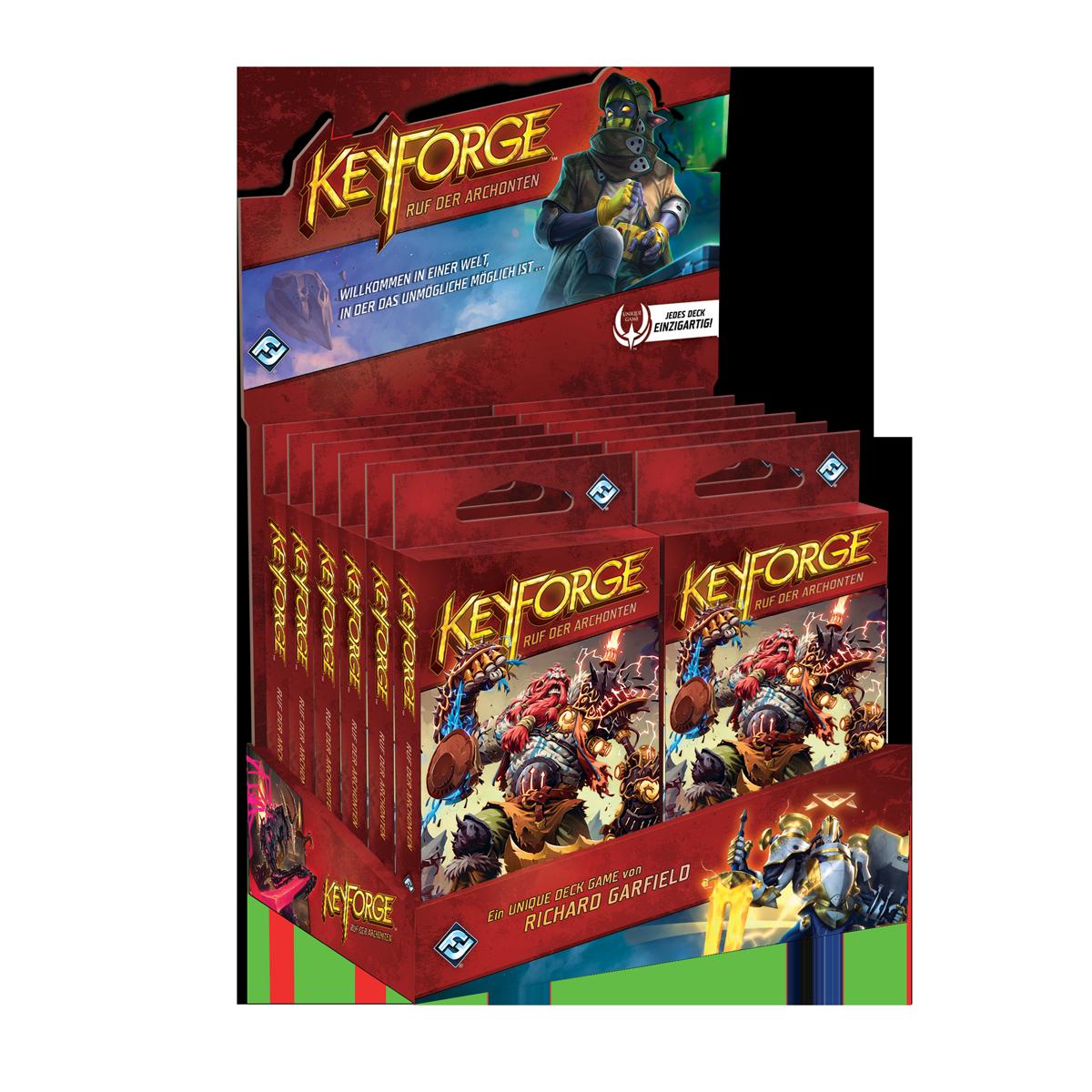 Keyforge: Ruf der Archonten - Deck (Display)