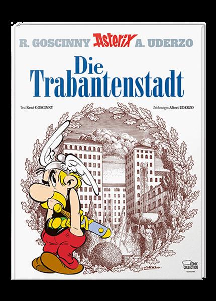 Asterix 17: Die Trabantenstadt - gebundene Ausgabe