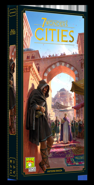 7 Wonders - Cities (neues Design) • Erweiterung