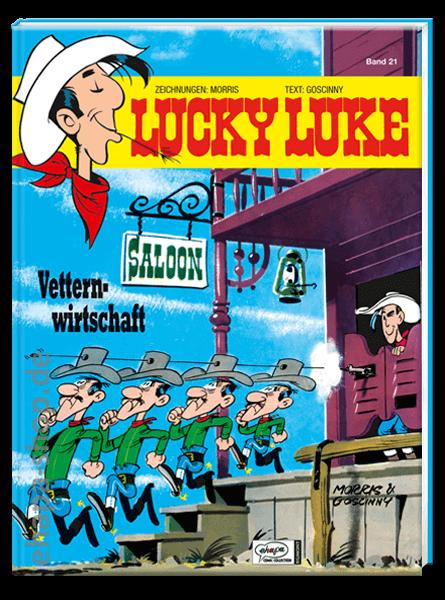 Lucky Luke 21: Vetternwirtschaft