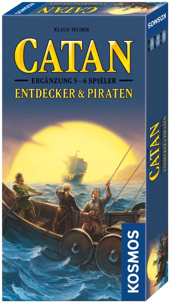 CATAN - Ergänzung 5 - 6 Spieler - Entdecker & Piraten