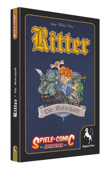 Spiele-Comic Abenteuer: Ritter - Die Botschaft (Hardcover)
