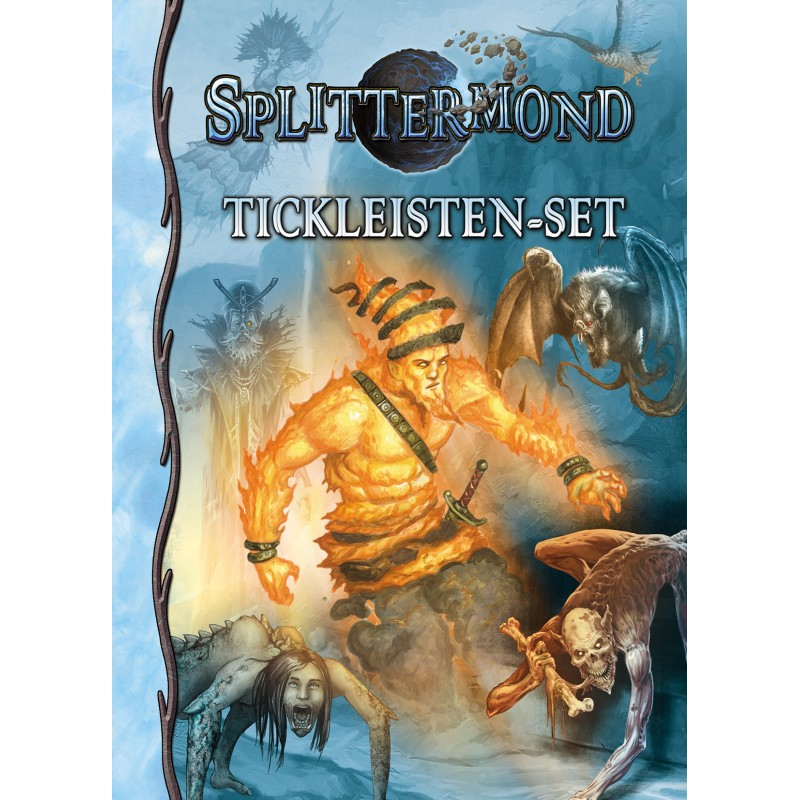 Splittermond Deluxe-Tickleistenset