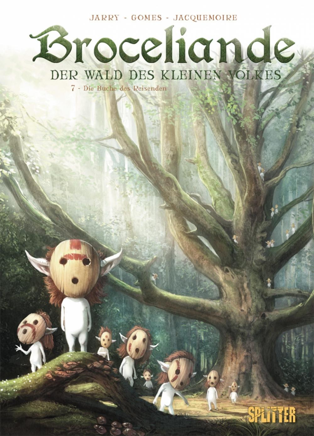 Broceliande - Der Wald des kleinen Volkes 7 : Die Buche des Reisenden