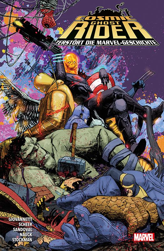 Cosmic Ghost-Rider zerstört die Marvel-Geschichte