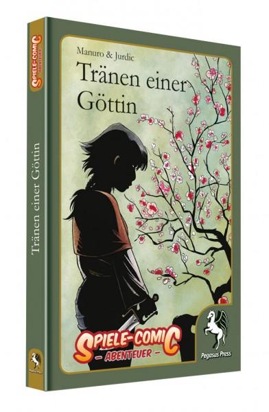 Spiele-Comic Abenteuer: Tränen einer Göttin (Hardcover)