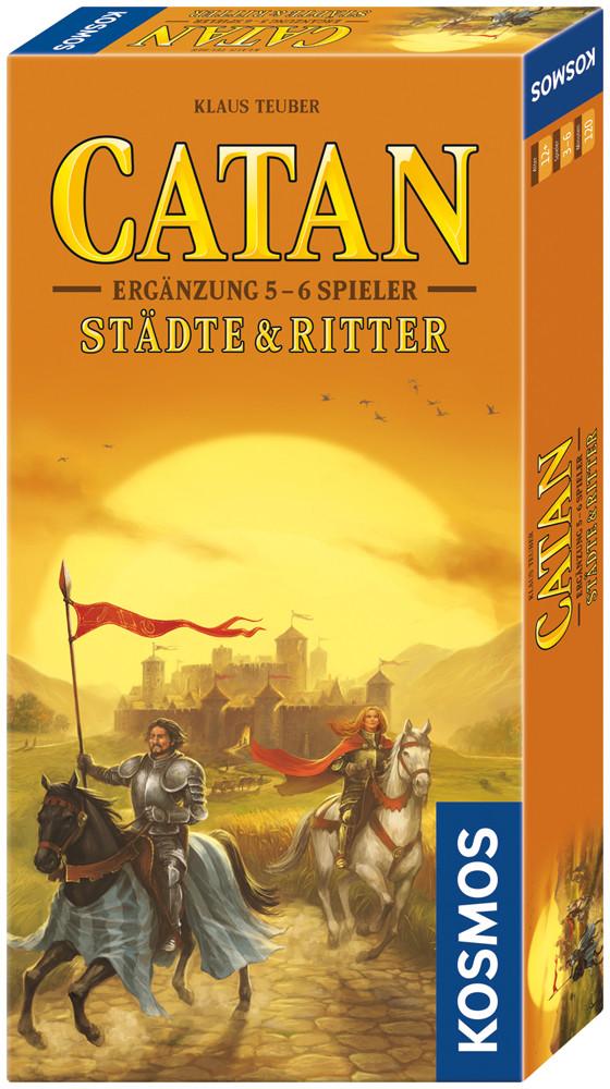 CATAN - Ergänzung 5 - 6 Spieler - Städte & Ritter