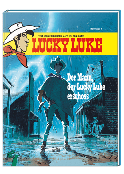 Der Mann, der Lucky Luke erschoss: Lucky Luke Hommage 1