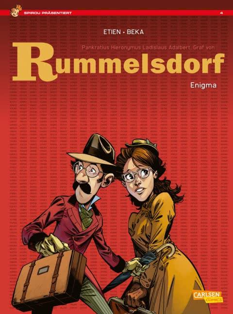 Spirou präsentiert 4: Rummelsdorf 1: Enigma (Softcover)