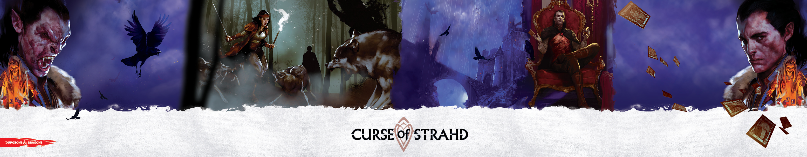 D&D: Dungeon Master's Screen – Fluch des Strahd