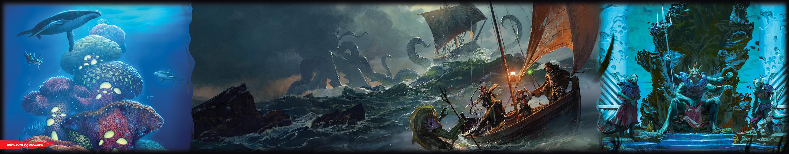 D&D: Dungeon Master's Screen - Von Schiffen und der See