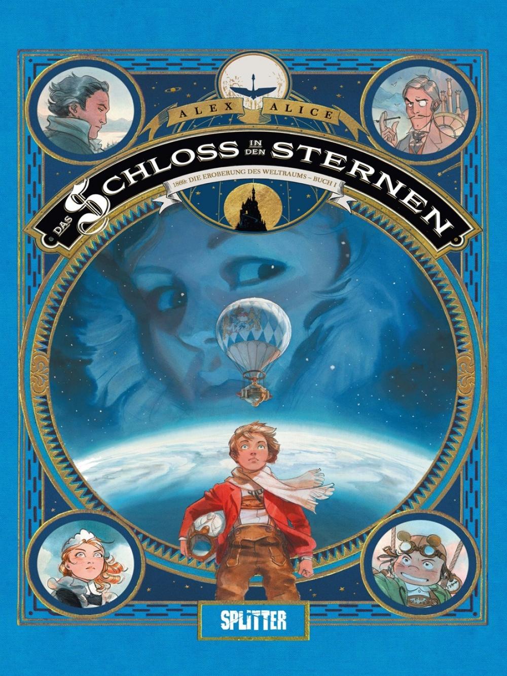Das Schloss in den Sternen 1 : 1869 - Die Eroberung des Weltraums - Buch 1