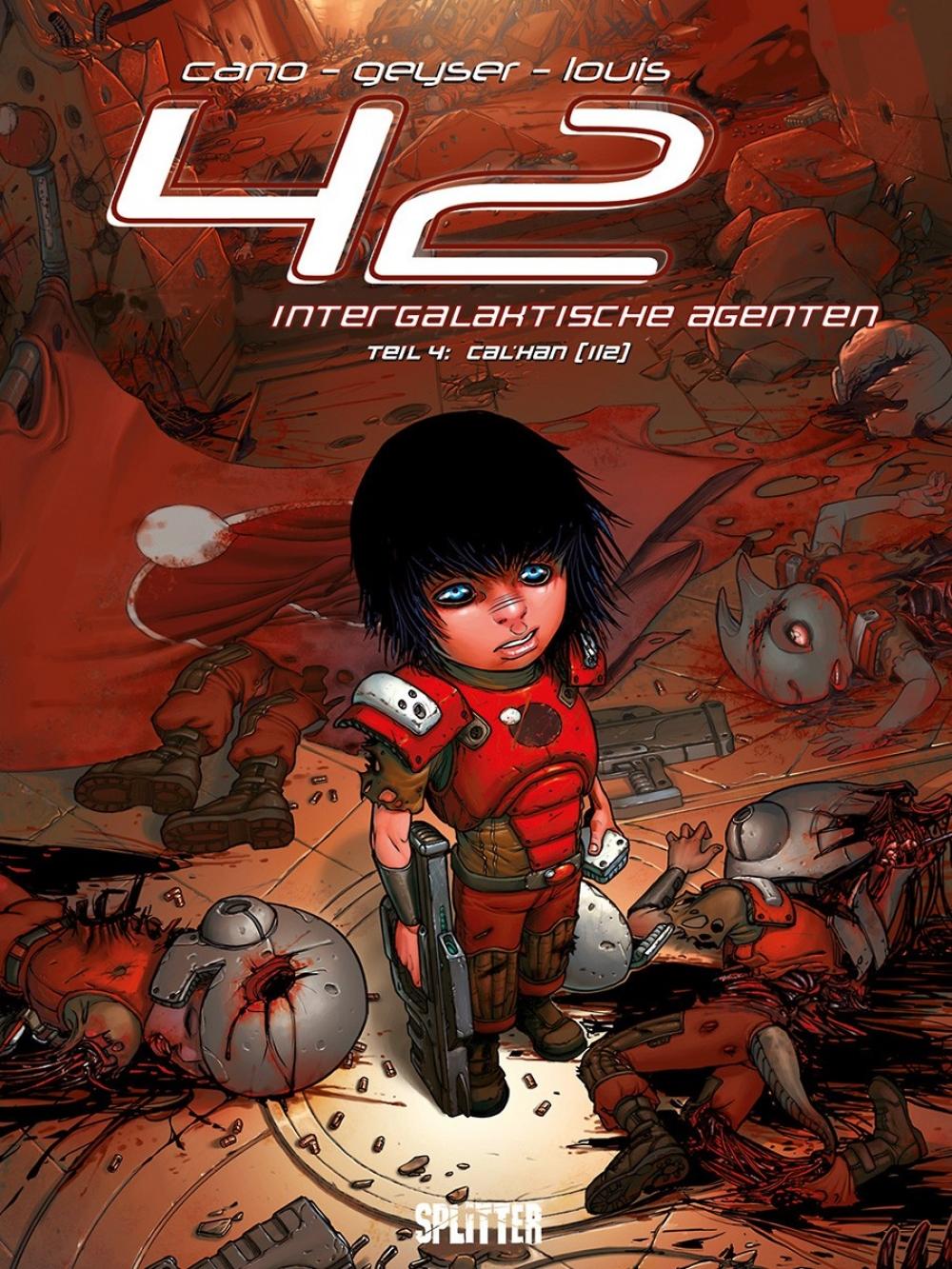 42 - Intergalaktische Agenten 4 : Cal`Han