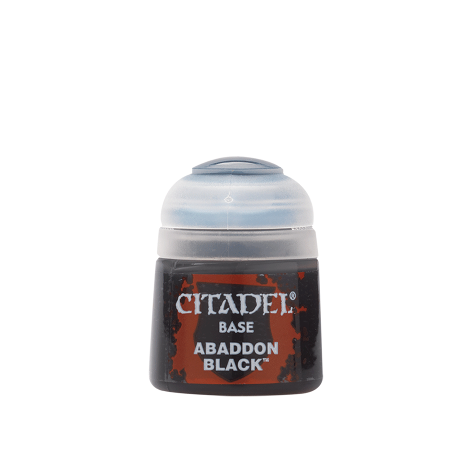Citadel Base Abaddon Black