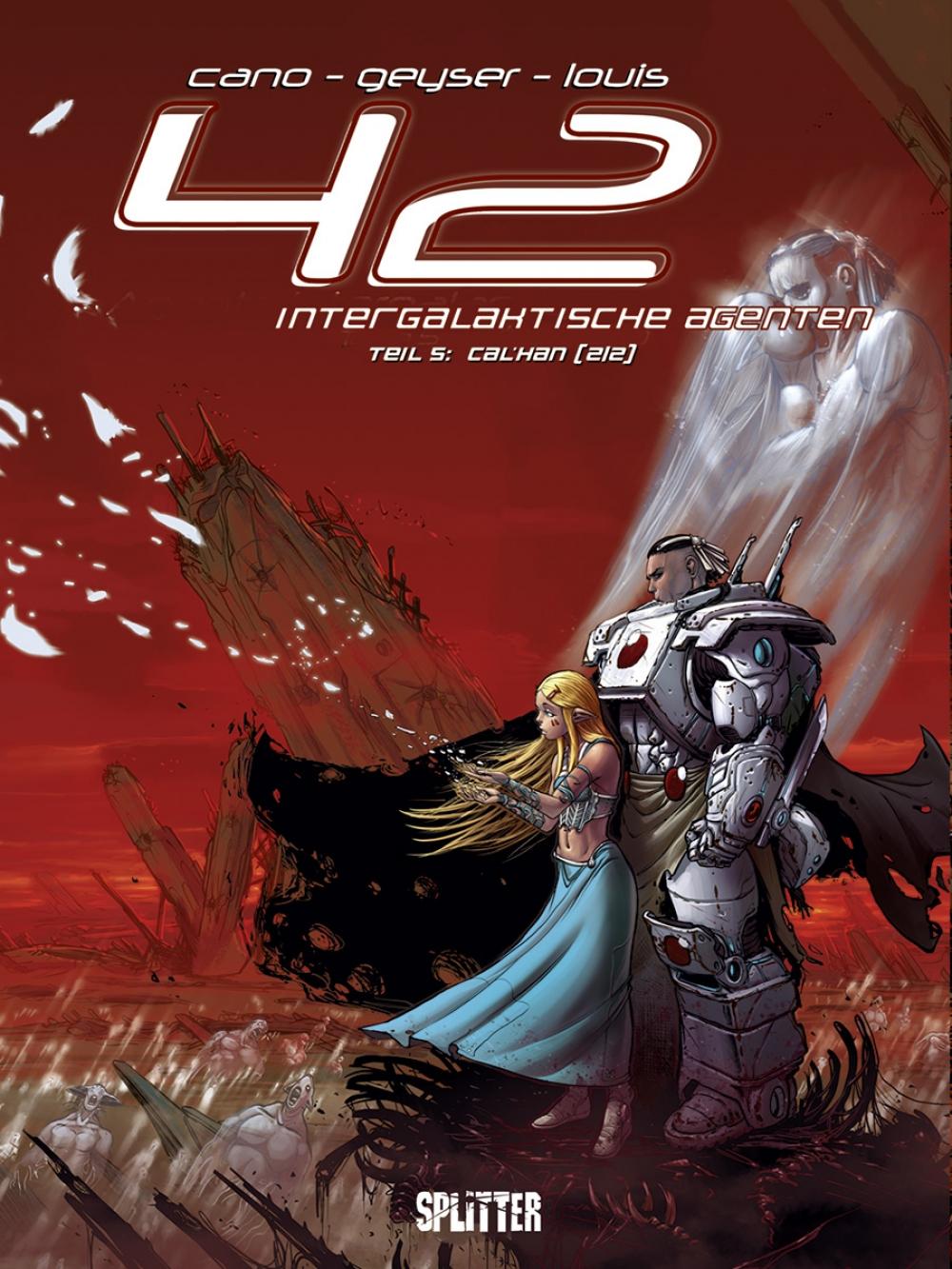 42 - Intergalaktische Agenten 5 : Cal´Han 2