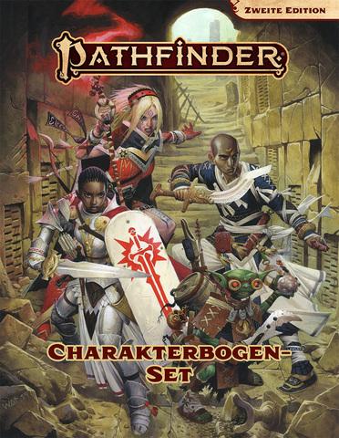Pathfinder - Charakterbogenpack (2. Edition)