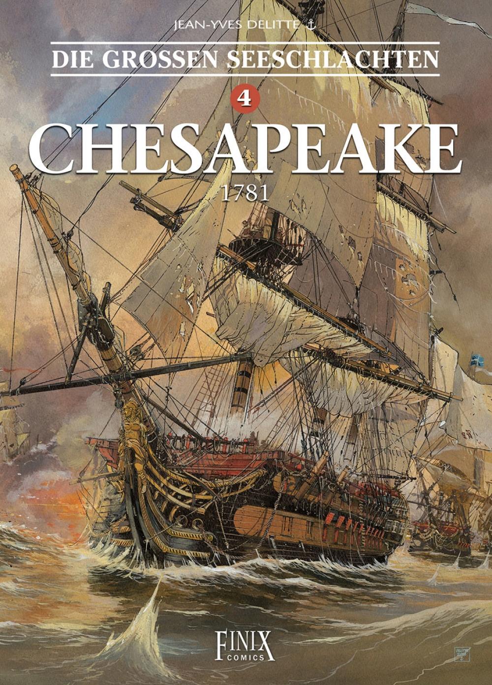Die großen Seeschlachten 4 : Chesapeake