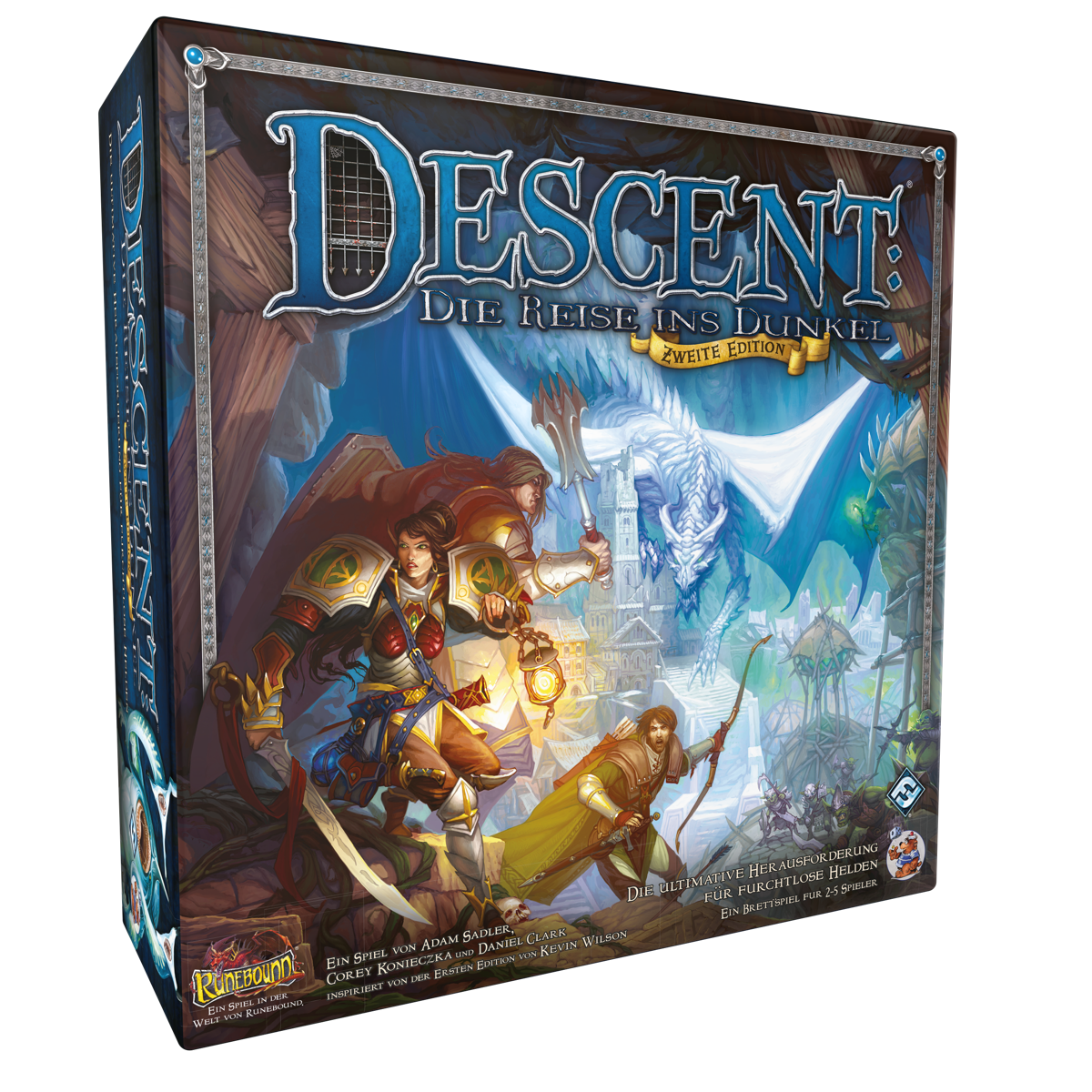 Descent 2.Ed. - Die Reise ins Dunkel - Grundspiel
