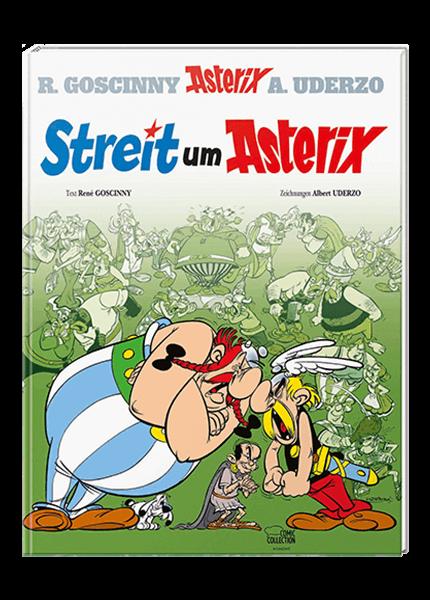 Asterix 15: Streit um Asterix - gebundene Ausgabe