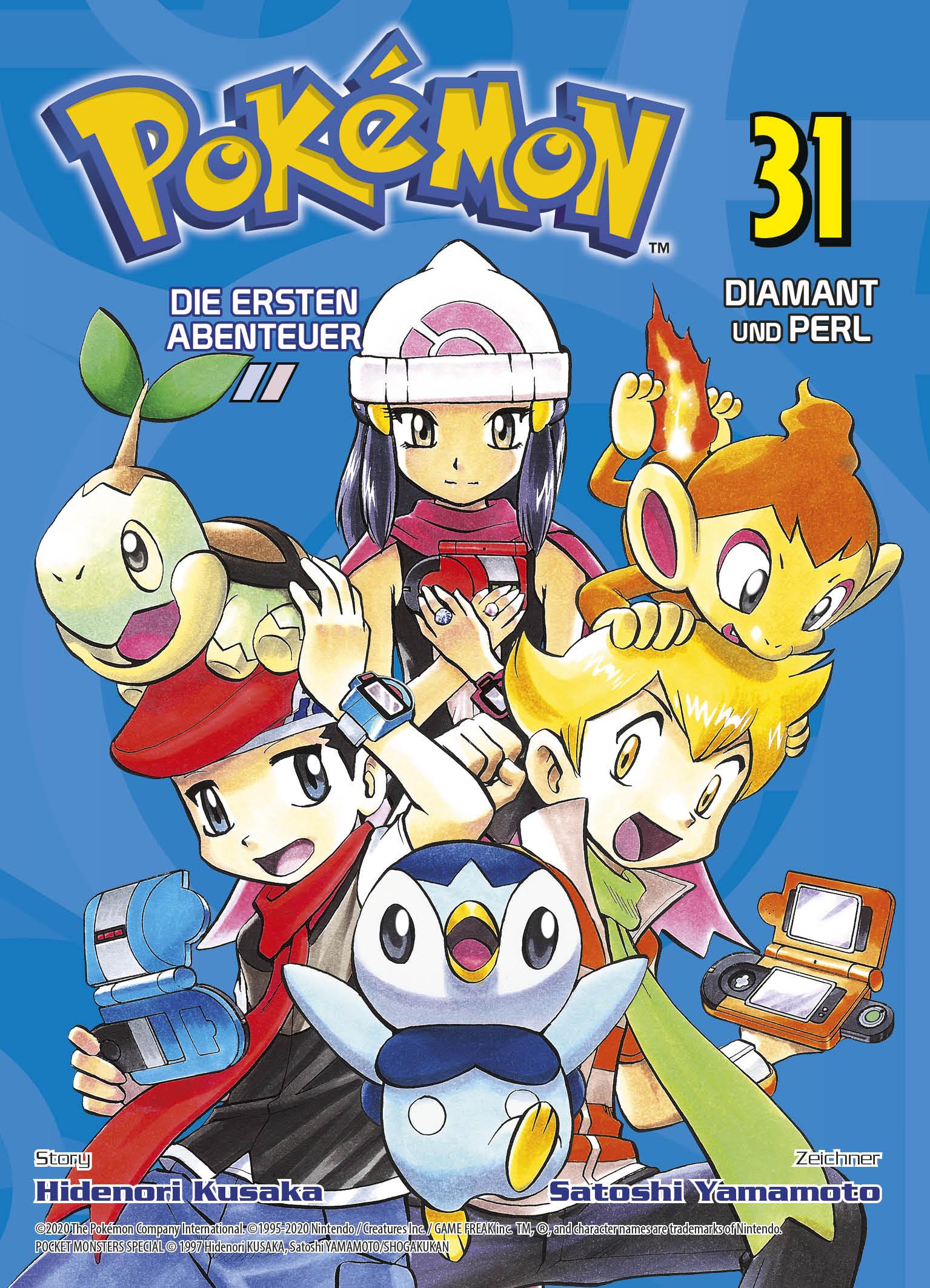 Pokémon Die ersten Abenteuer 31: Diamant und Perl