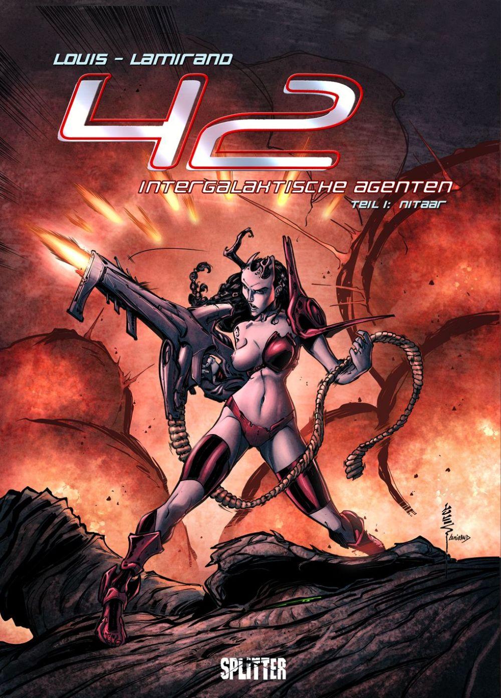 42 - Intergalaktische Agenten 1 : Nitaar