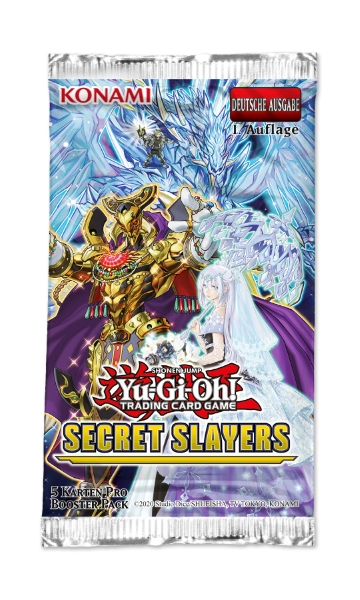 Yu-Gi-Oh! TRADING CARD GAME Secret Slayers