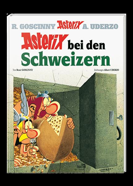 Asterix 16: Asterix bei den Schweizern - gebundene Ausgabe