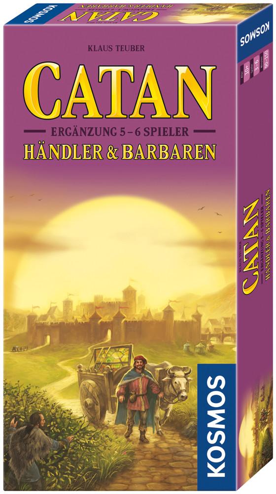 CATAN - Ergänzung 5 - 6 Spieler - Händler & Barbaren