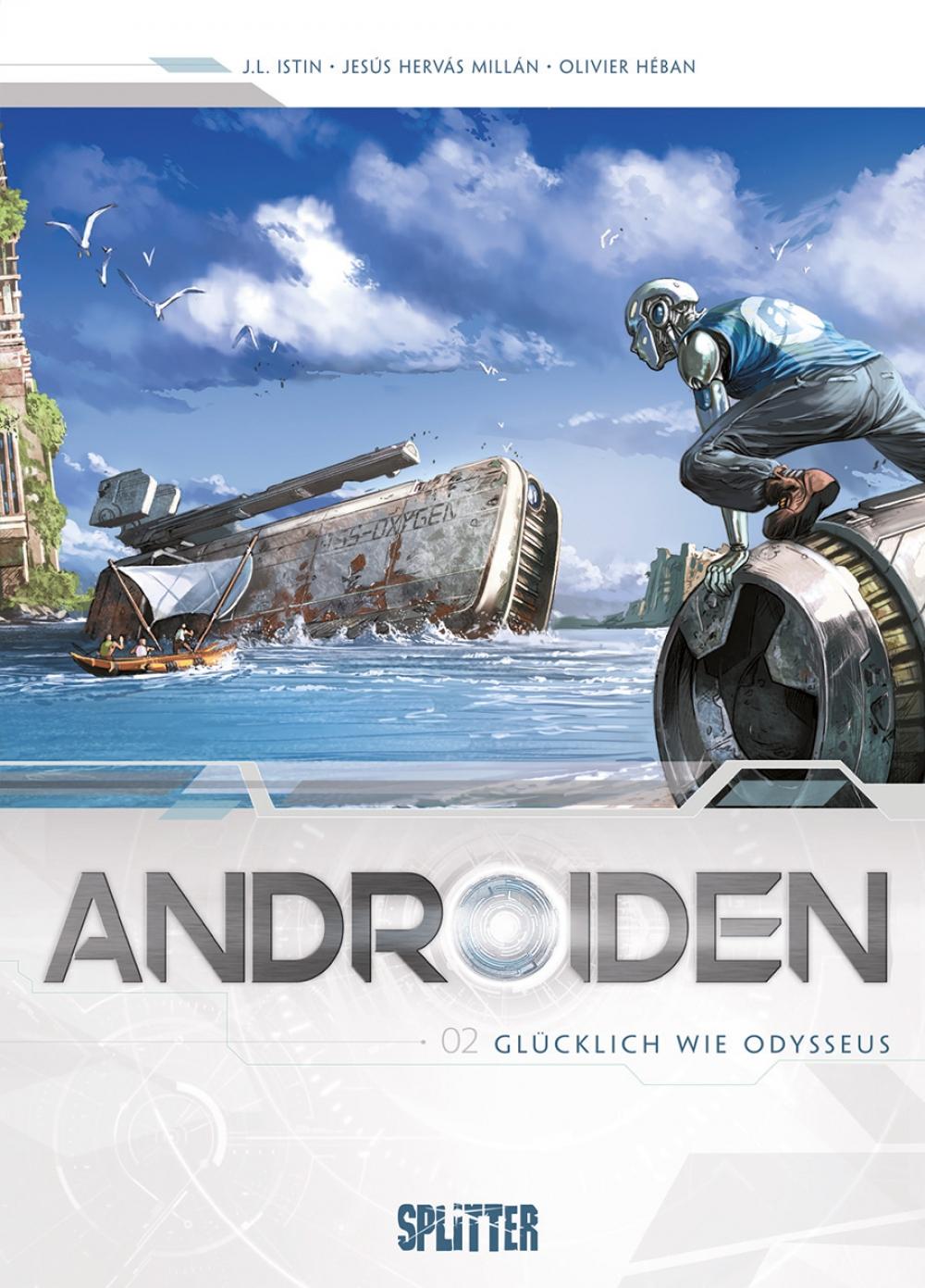 Androiden 02 : Glücklich wie Odysseus