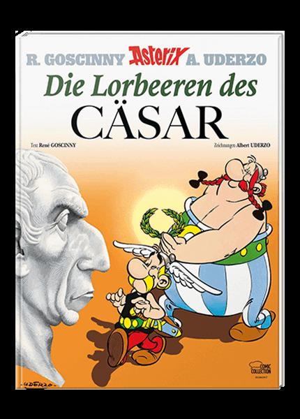 Asterix 18: Die Lorbeeren des Cäsar - gebundene Ausgabe