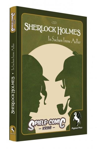 Spiele-Comic Krimi: Sherlock Holmes - In Sachen Irene Adler (Hardcover)
