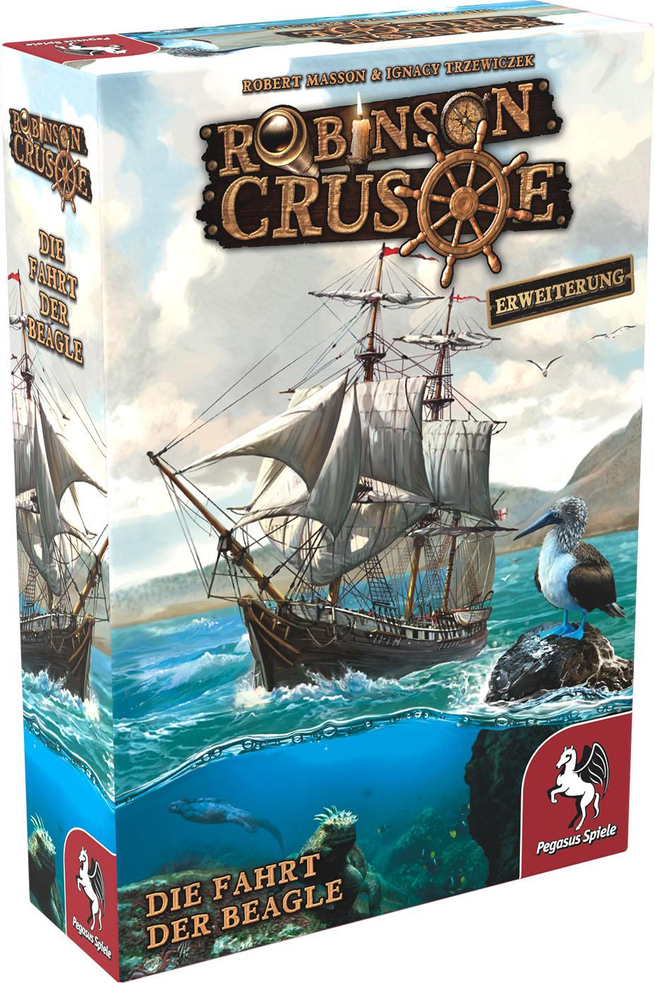 Robinson Crusoe: Die Fahrt der Beagle [Erweiterung]