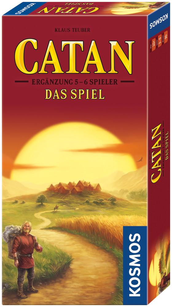 CATAN - Ergänzung 5-6 Spieler - Das Spiel