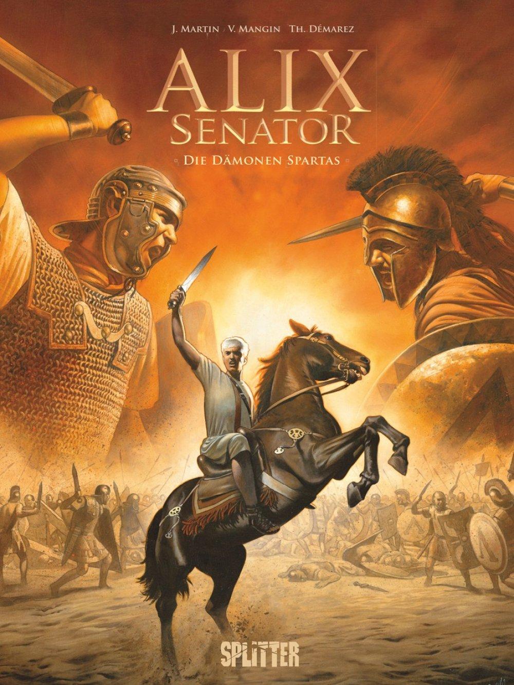 Alix Senator 04 : Die Dämonen von Sparta