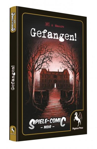 Spiele-Comic Noir: Gefangen! (Hardcover)