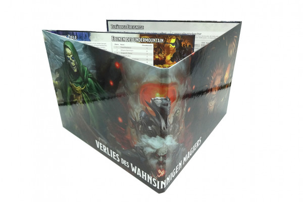 D&D: Dungeon Master's Screen Das Verlies des wahnsinnigen Magiers