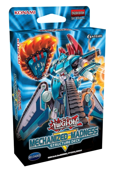 Yu-Gi-Oh! TRADING CARD GAME Structure Deck: Mechanized Madness