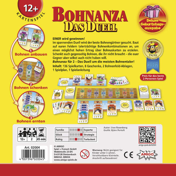 Bohnanza - Das Duell DELUXE