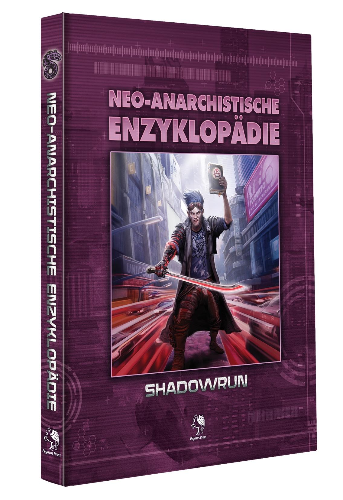 Shadowrun: Neo-Anarchistische Enzyklopädie (Hardcover)