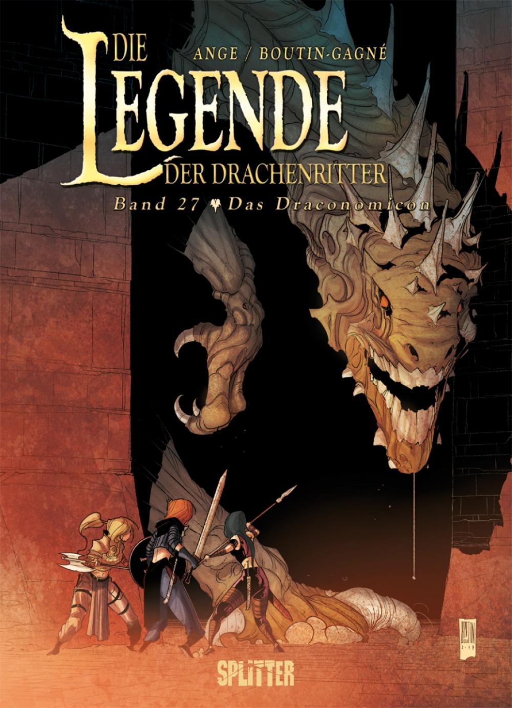 Die Legende der Drachenritter 27 : Das Draconomicon