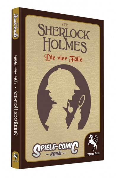 Spiele-Comic Krimi: Sherlock Holmes - Die vier Fälle (Hardcover)