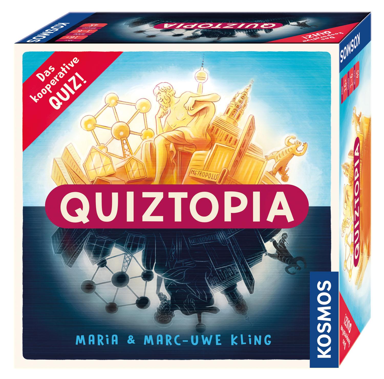 Quiztopia - Gemeinsam gegen das Spiel - das kooperative Quiz
