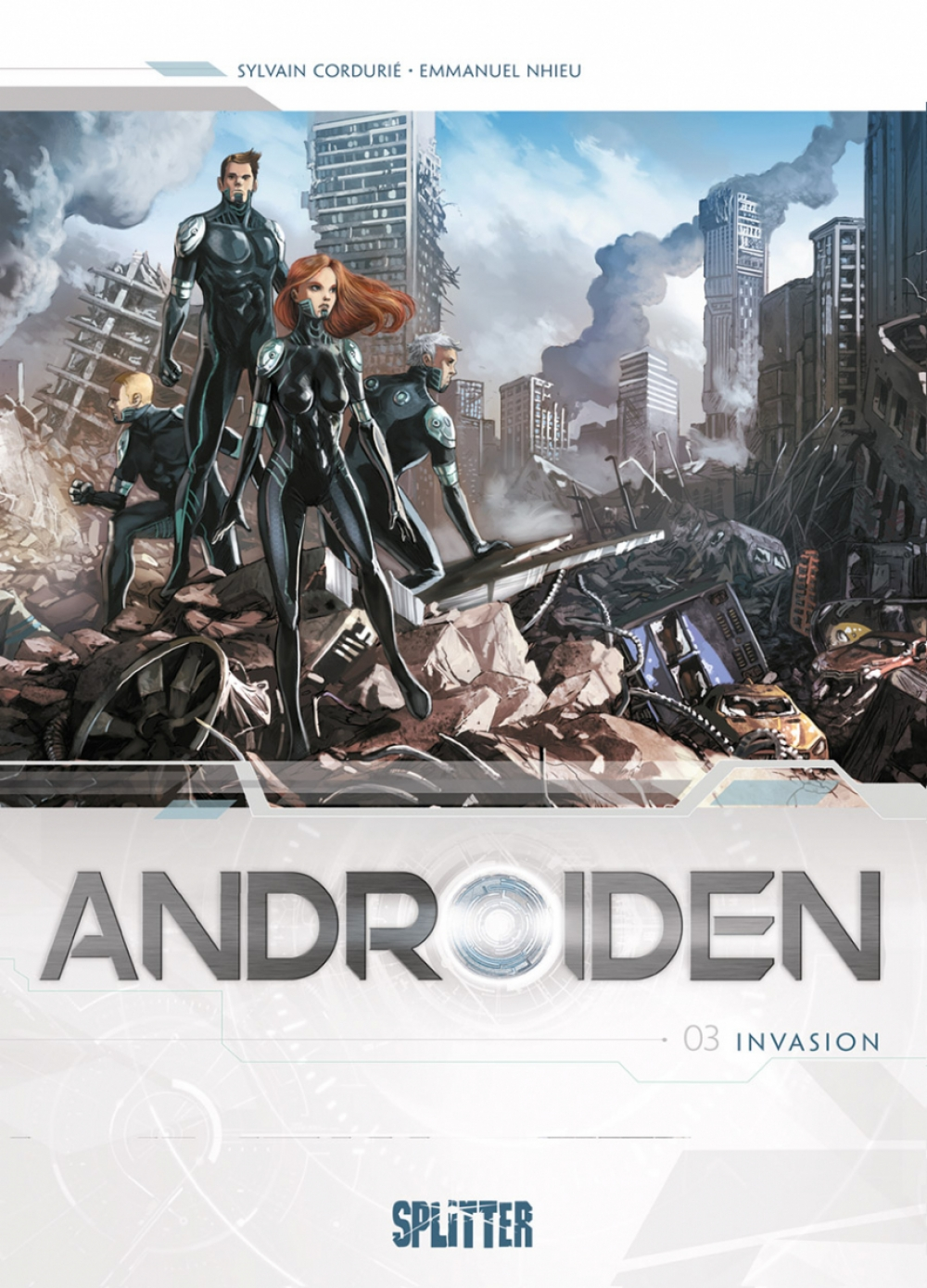 Androiden 03 : Invasion